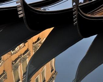 Venetian Gondola Refelection