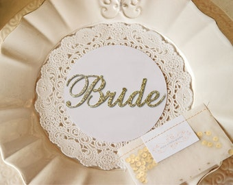 Custom Acrylic Wedding Place Card, Place Setting, Guest Names, Name Place Settings, Place Settings  [NPC]