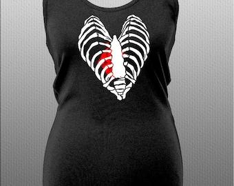 Ribcage Vest, heart, anatomy, clothing, fashion, alternative