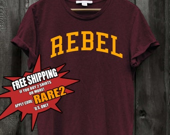 Rebel Sarcastic Savage Tshirt