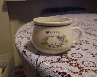 Sheep Soup Bowl, Or Cereal Bowl