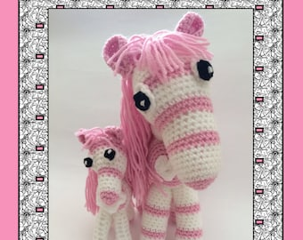 Candy the Pink Pony & Baby
