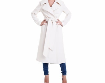 Long wool coat | Etsy
