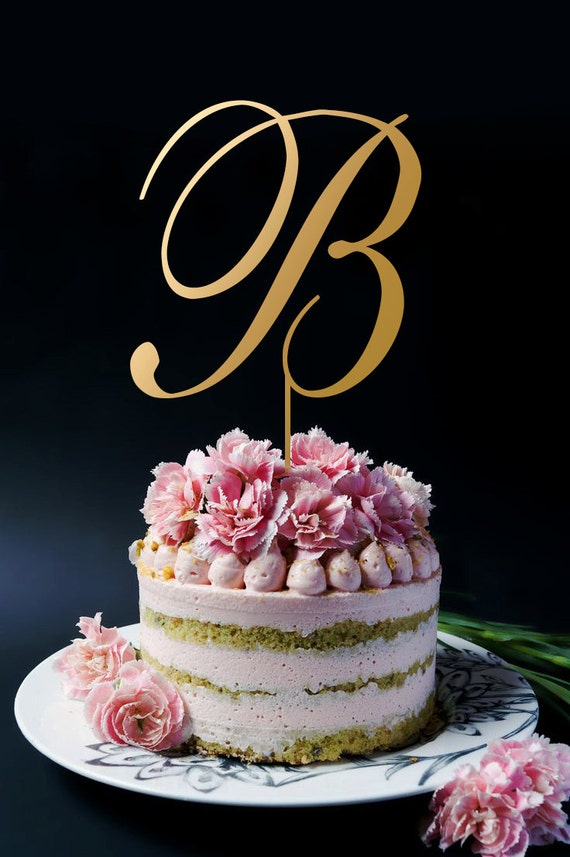 initial cake toppers wedding cake topper monogram cake topper name initials 5155