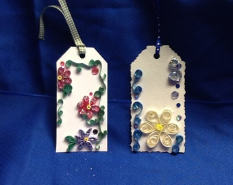 Quilled Gift Tags