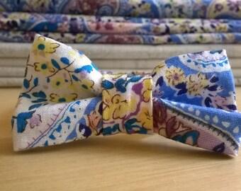 Bracelet knot printed cashmere
