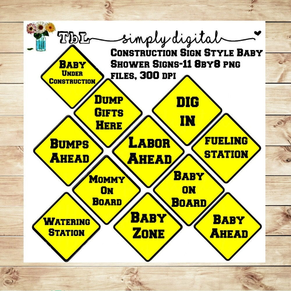 construction baby shower signs clip artboth by tblsimplydigital