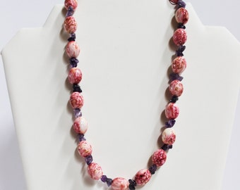 Handmade Paint Necklace