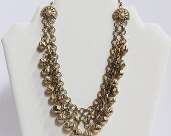 Metal Accent Vintage Necklace