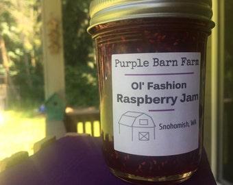 Ol' Fashion Raspberry Jam