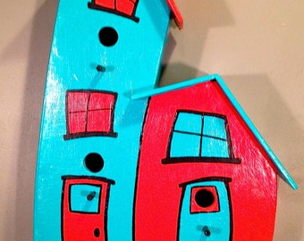 "A ""Whimsical"" Bird House #7"