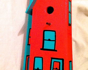 "A ""Whimsical"" Bird House # 11"