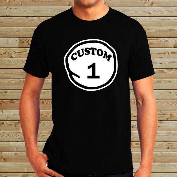 personalized custom thing 1 t shirt thing 1 thing 2 thing