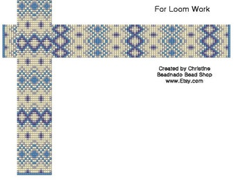 Ski Sweater Design Bead Loom Pattern