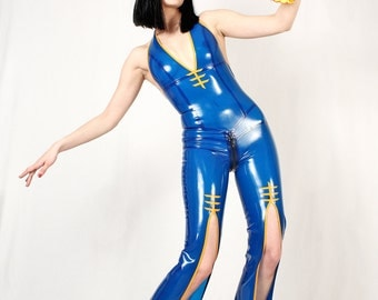 China Cat Latex Catsuit