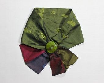 Stylish scarf silk Choker