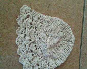 Adorable newborn summer hat
