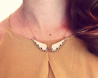 dragon wings necklace