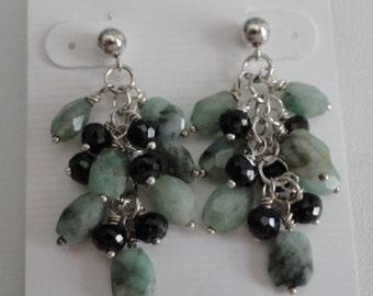 Emerald Earrings  -  #309
