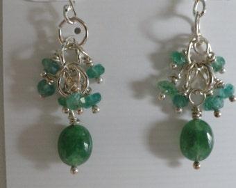 Emerald Earrings  -  #311