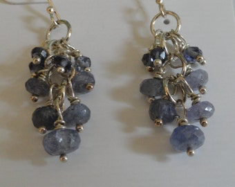 Tanzanite Earrings  -  #418