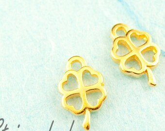 Trailer 5 x 10 mm gold clover species. 2745