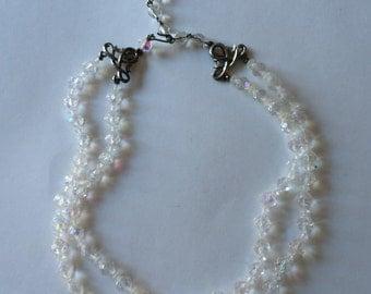 Vintage Glass Bead 2-Strand Necklace