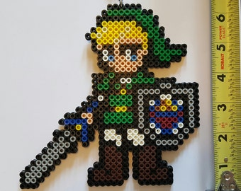 LINK Smash Brothers/The Legend of Zelda  Bead Sprite + Lanyard