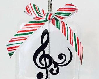 Christmas Ornament, Music Christmas Ornament, Music Teacher, Music Teacher Ornament