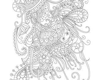 Peas Coloring Pages Printable Stress Relief Peas Best