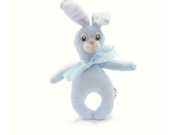 Rabbit . Stuffed  rabbit, soft toy.
