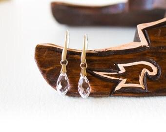 Crystal clear Swarovski earrings – sparkling earrings – crystal earrings – clear earrings – wedding earrings