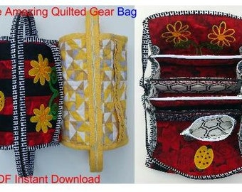 The Amazing Quilted Gear Bag Pattern