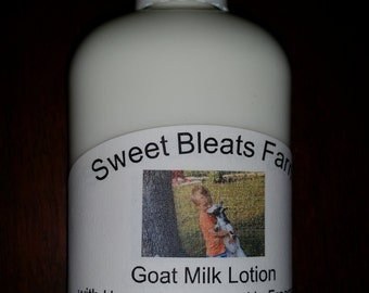 Goat Milk Lotion - Baby Powder Fragrance