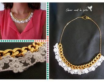 """Collar lace """"Jeanne"""""""