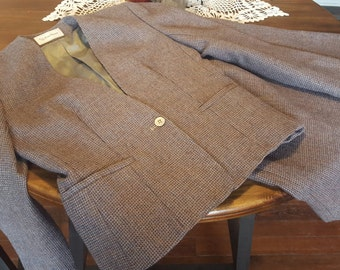 Vintage Wool Suit - Union Made