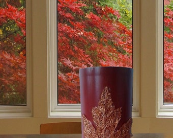 Rust Red Vase