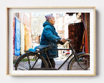 Photographic Print - Daytime Kathmandu I, Nepal, Photographic Art, Photo Print, Wall Art, Framed Print, Colour, Nepal Street Photography