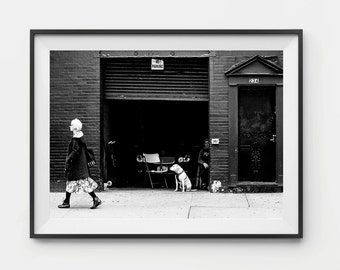 Photographic Print - Streets Of New York Photo Print, Street Photography, Photographic Art, Wall Art, Photo Print, Black and white, New York