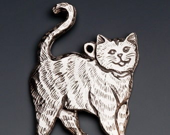 Lula the Cat ornament