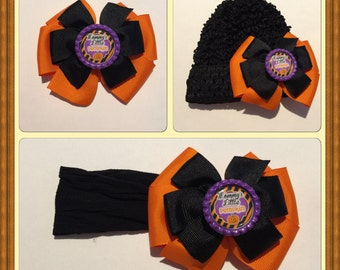 Halloween headband/hat set