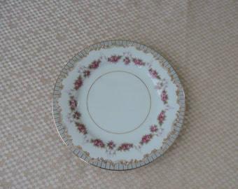 Noritake China 5201 Ridgewood 8  Bread and Butter Plates  Vintage