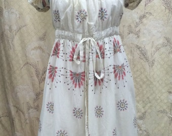 1980s Cotton Dress by Luca