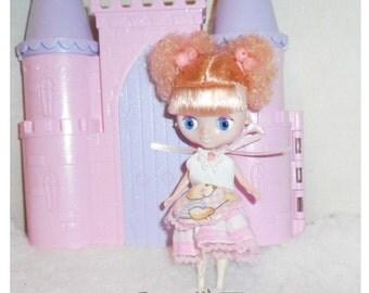 Petite Blythe apron dress Petite Blythe, Mini Pullip, Little Dal Fashion Doll Clothing