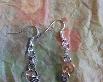 Steampunk Cog Earrings