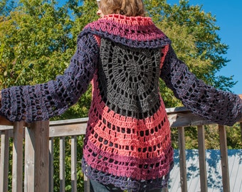 Crochet Circle Sweater