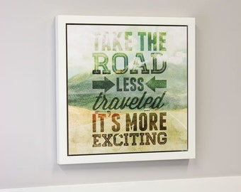 Dry Erase Board - Road Exciting Open Art