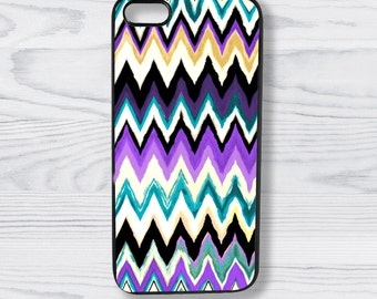 Chevron Graphic Motion II - Phone Case