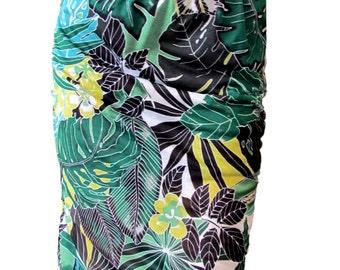 Jupe Jungle avec boutons décoratifs