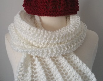 Red Hat and White Scarf